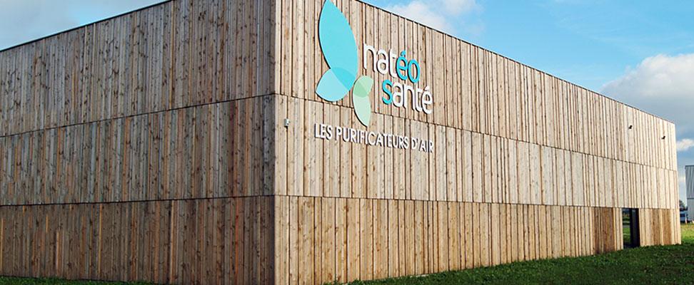 NatéoSanté company building Nantes Saint Hilaire de Chaleons air purifier