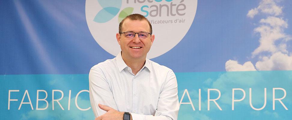 Thierry Ricci president founder NatéoSanté air purifiers